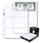 1-PRO3C-100_1_PRO 3-POCKET CURRENCY PAGE (100 CT. BOX)