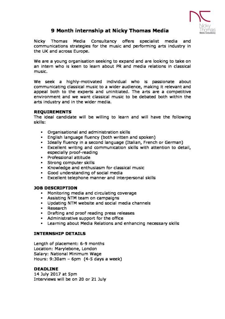 Index of /wp-content/uploads/2016/11 - Office Intern Job Description
