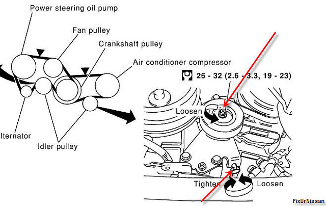 1999 nissan pathfinder engine diagram