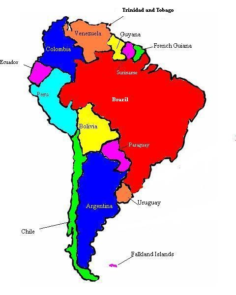 south american continent - Goalgoodwinmetals