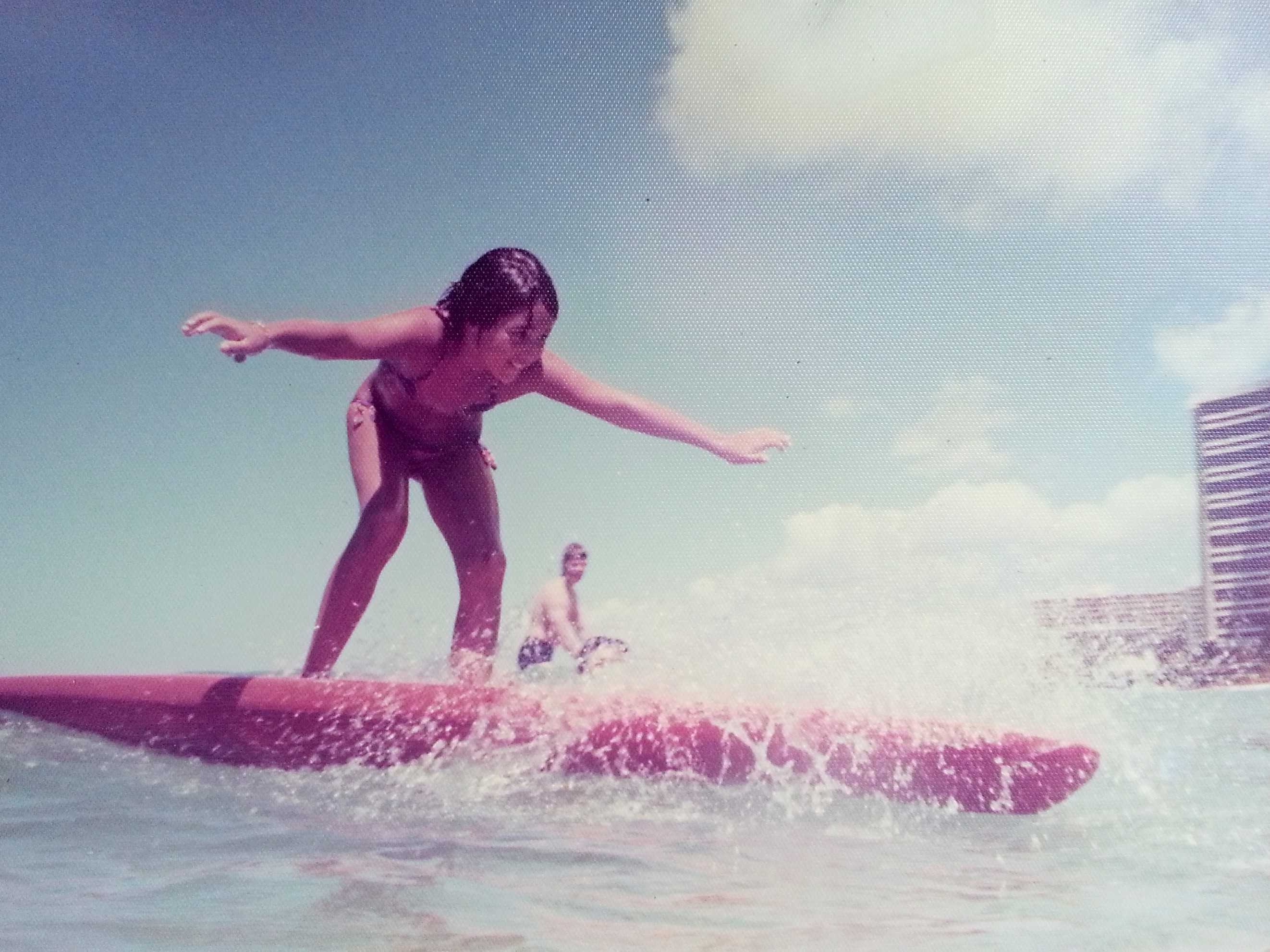 Nicole Fox Noble surf waikiki