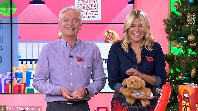 Holly Willoughby Accused Of Farting Live On This Morning By Co-Host Phillip Schofield