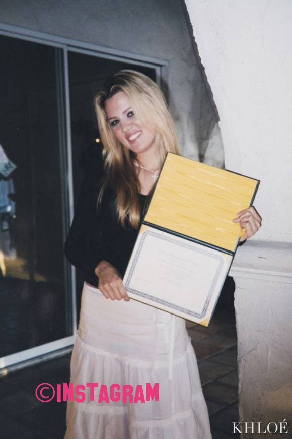 Khloe Kardashian Shares Throwback Snap From When She Graduated High School!