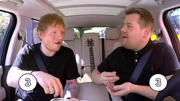 Ed Sheeran Take Part In James Corden's Carpool Karaoke WATCH HERE!!!!