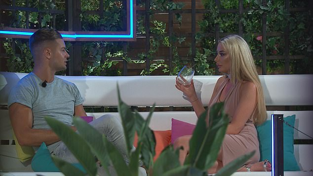 Love Island's Chloe Crowhurst Confronts Chris Hughes Over Him Wanting Olivia Attwood