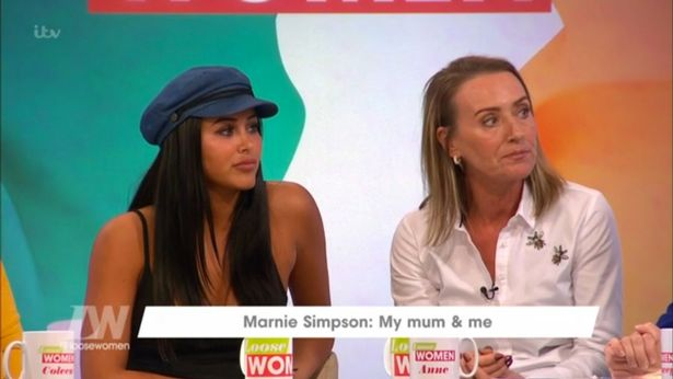 Marnie Simpson Admits She Watches Geordie Shore Sex Scenes With Her Mum During Live Loose Women Interview
