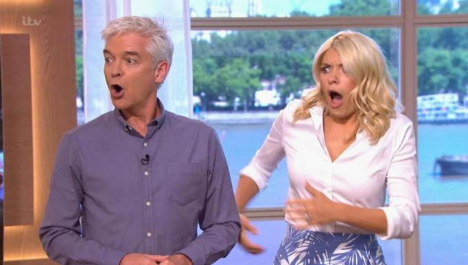 Holly Willoughby Freaks Out After 'Stalker' Crow Attacks Her Live On This Morning