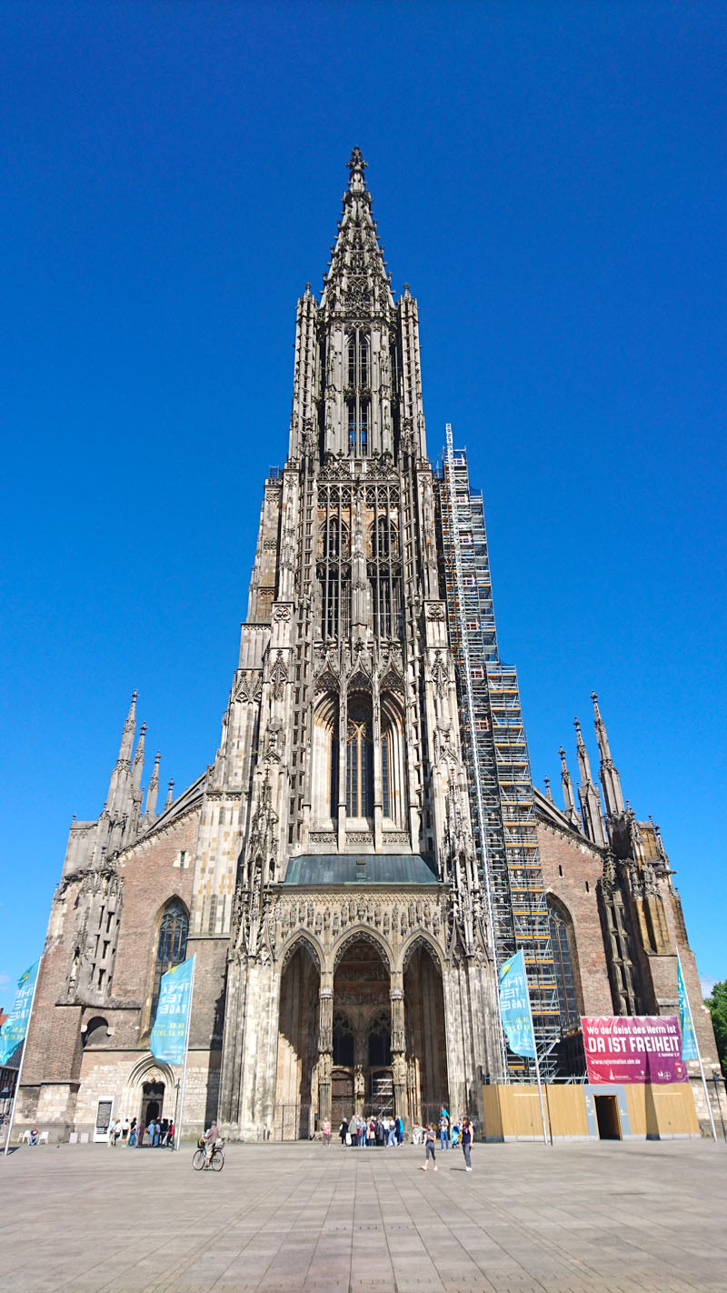 Ulm Deutschland The Ulm Cathedral The World S Highest Church