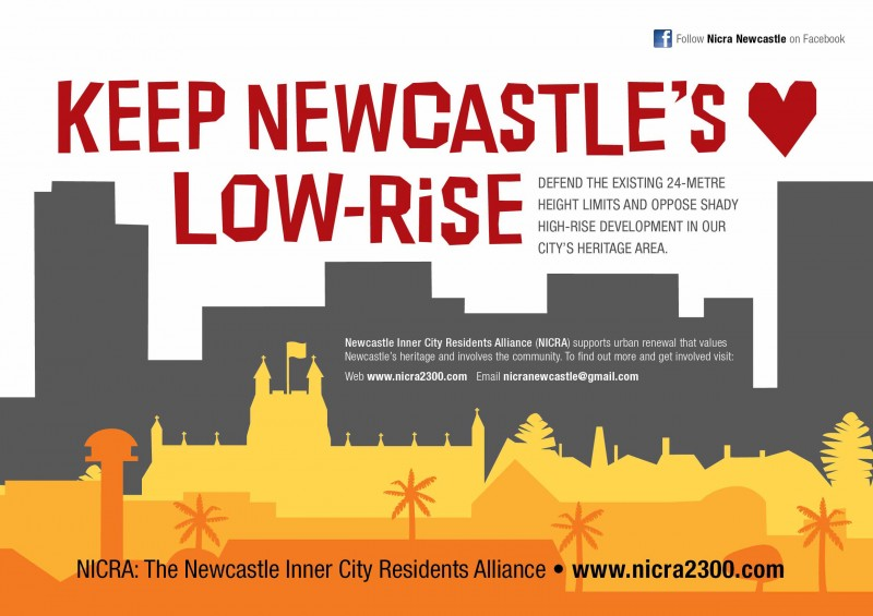 About NICRA Newcastle Inner City Residents Alliance