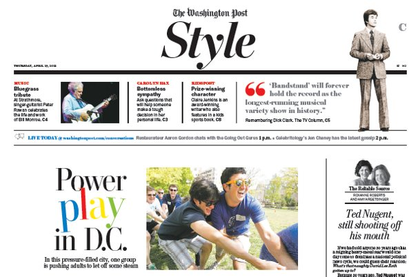 Style Section Newspaper In Education