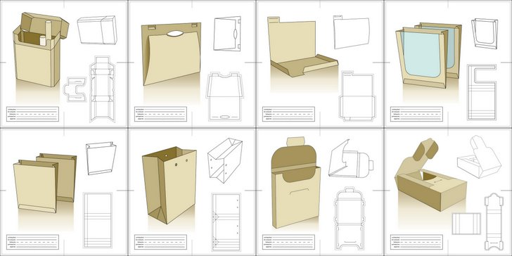 Vector Packaging Templates, Try It Out SCORE
