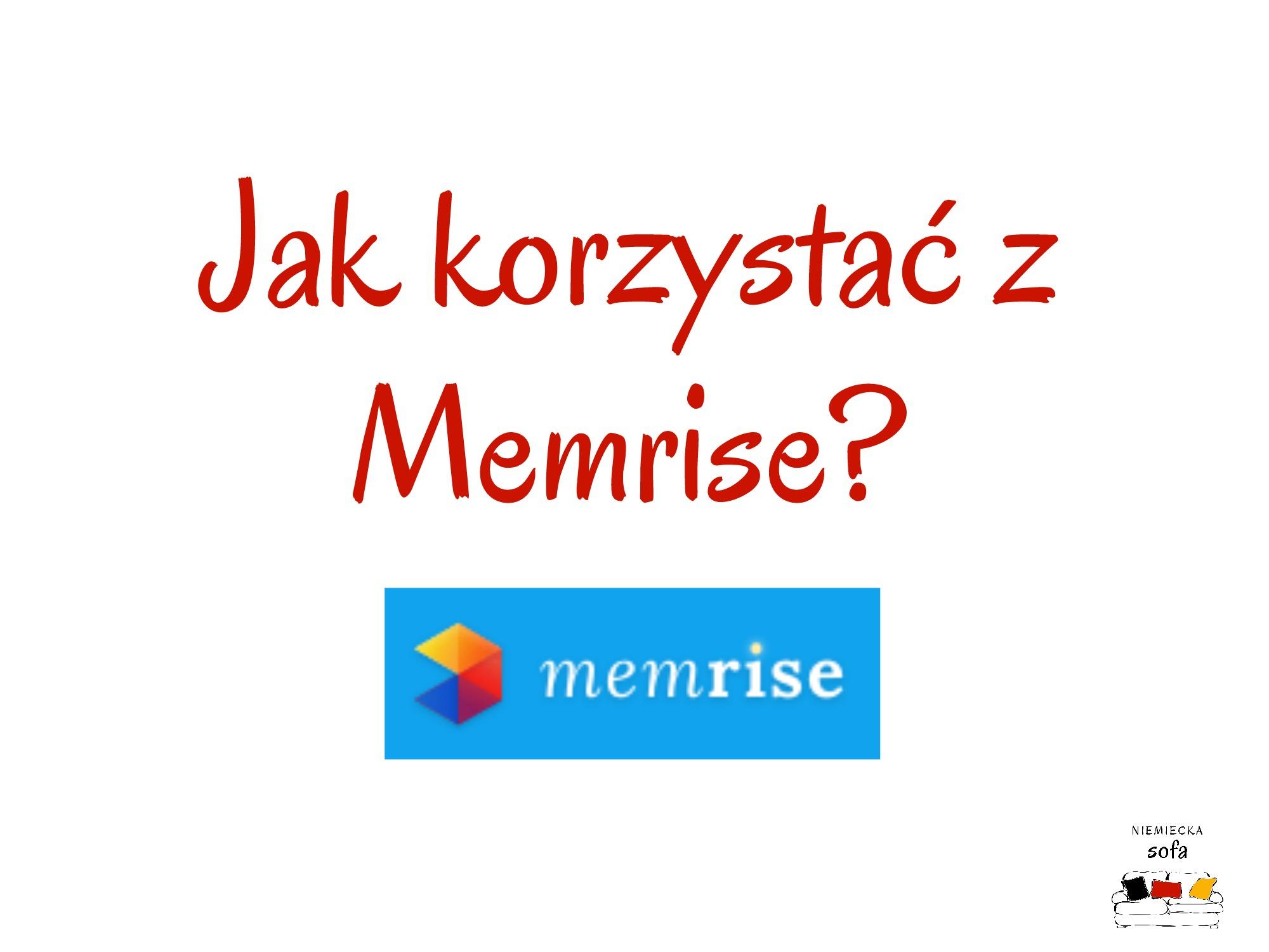 Jak korzystać z Memrise?