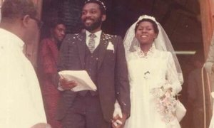 Akeredolu and wife