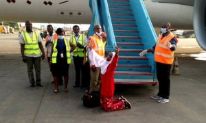 165 Nigerians Voluntarily Return From Libya