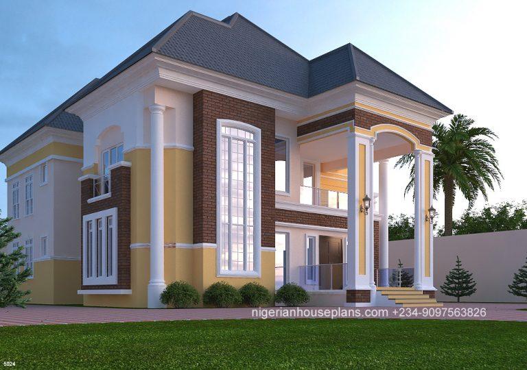 5 Bedroom Duplex Ref5024 Nigerianhouseplans