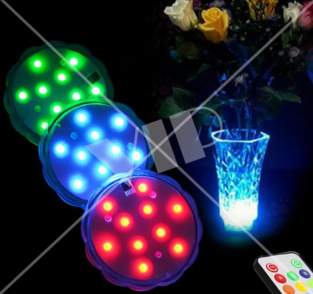 Remote Controlled Night Light Remote Control Led Waterproof Light Glorifiers Night
