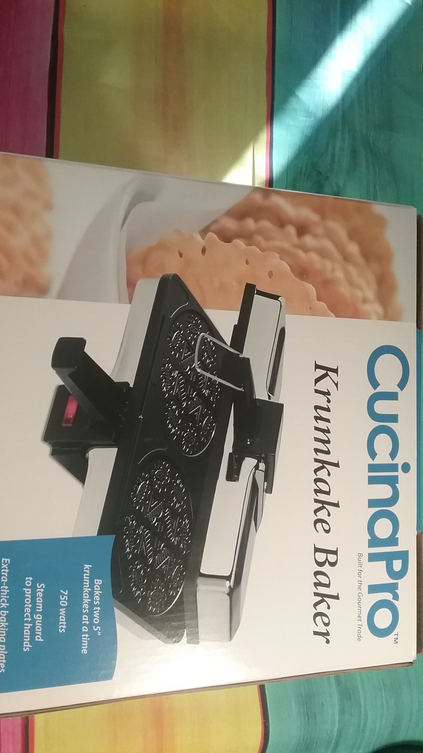 Amazon Cucinapro 2016 Holiday Gift Guide Cucinapro Bubble Waffle Maker Krumkake