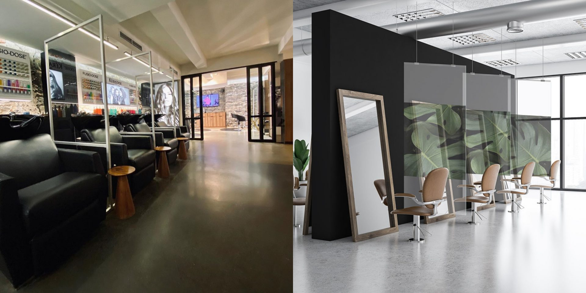 Le Plexiglas L Avenir Des Salons De Beauté Post Covid Nightlife