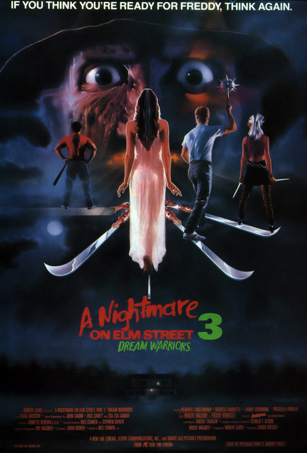 A Nightmare on Elm Street 3 Dream Warriors \u2014 Movie Posters - poster on line