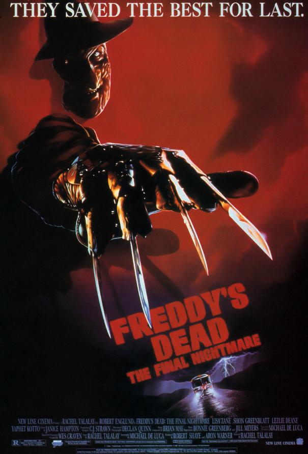 Freddy\u0027s Dead The Final Nightmare \u2014 Movie Posters Nightmare on - poster on line