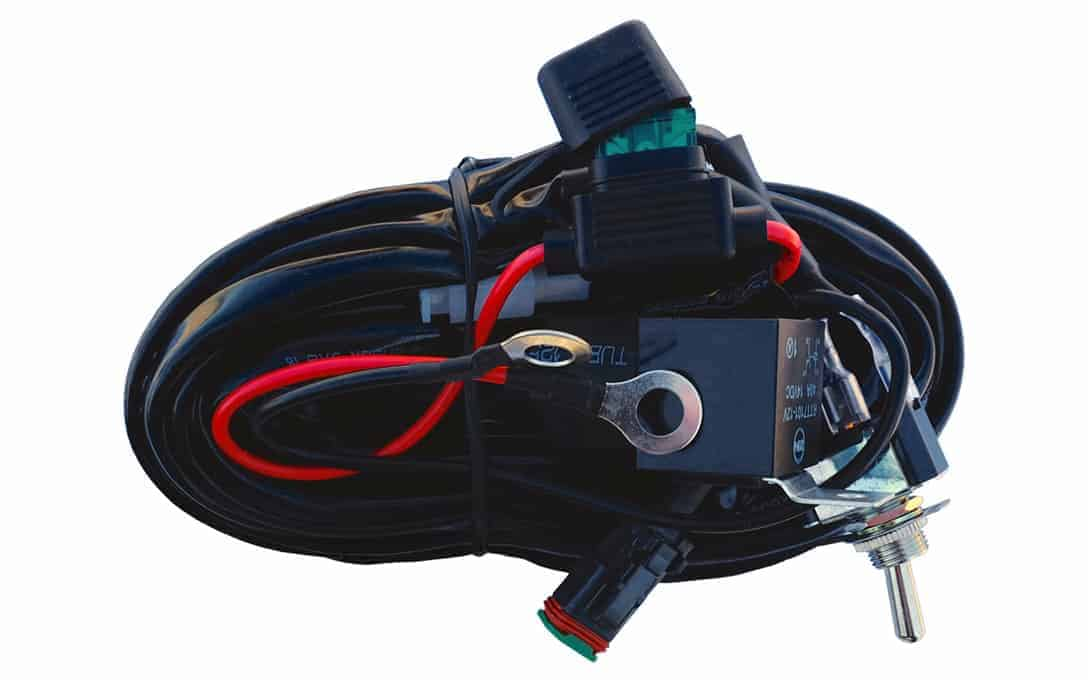 Single Deutsch Wiring Harness - NightRider LEDS Automotive