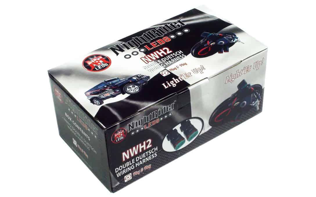 Dual Deutsch Wiring Harness - NightRider LEDS Automotive