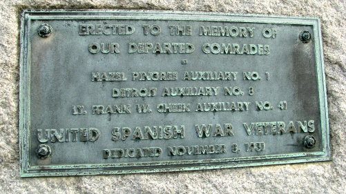 spanish american war veterans plaque