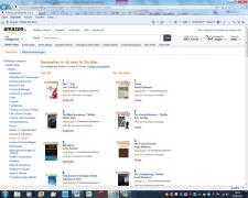 Bestsellerliste e-books Krimi und Thriller