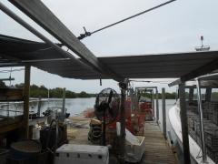 Muschelfamr auf Cedar Key