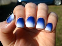 Easter Blue and White  Nik@Nails