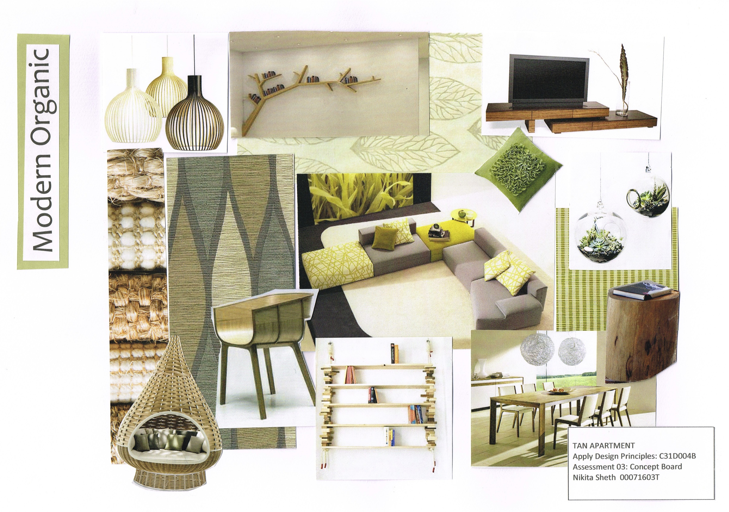 Organic Modern Design My First Mood Board Distracted By Design