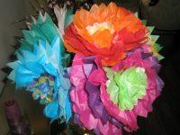 Pipe Cleaner Tissue Flowers - Nikki Bush
