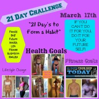 21 Day Challenge: Lose Weight, Get Fit, Feel Great! Portion Control and Short Workouts!