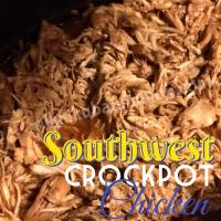 Southwest Crock Pot Pulled Chicken Recipe: 21 Day Fix Approved