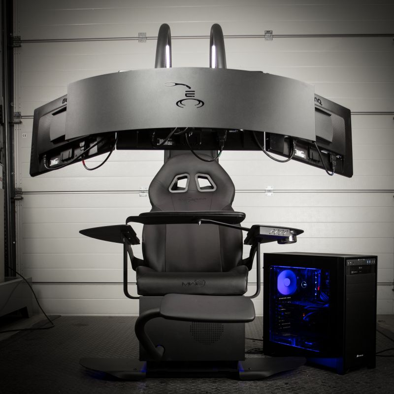 Gamer Sessel The Future Is Caseking!: The Emperor Chair 1510 Now