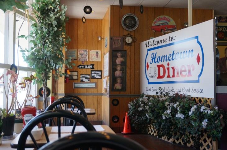 Breakfast in Connellsville, Pa.