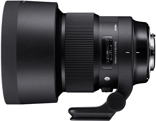 Full Frame Wide Angle E Mount Sigma Announces The Development Of 105mm F 1 4 Dg Hsm Art
