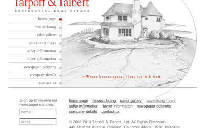 New Website: tarpoffandtalbert.com