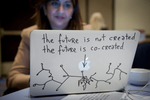The Future is Not Created