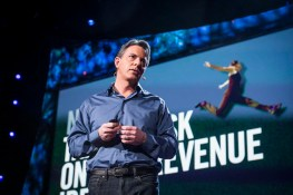 Dan Pallotta, Activist, Speaking at TED2013; Picture by Duncan Davidson