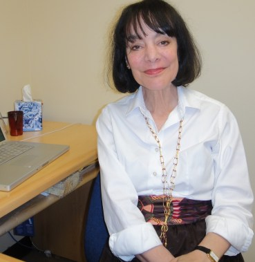 Carol Dweck at her office at Stanford University