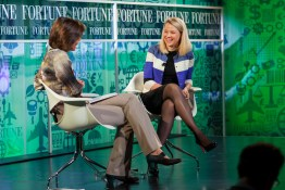 Marissa Mayer and Pattie Sellers at Fortune MPW 2013 event