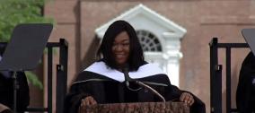 Shonda Rhimes 2014 Dartmouth Graduation