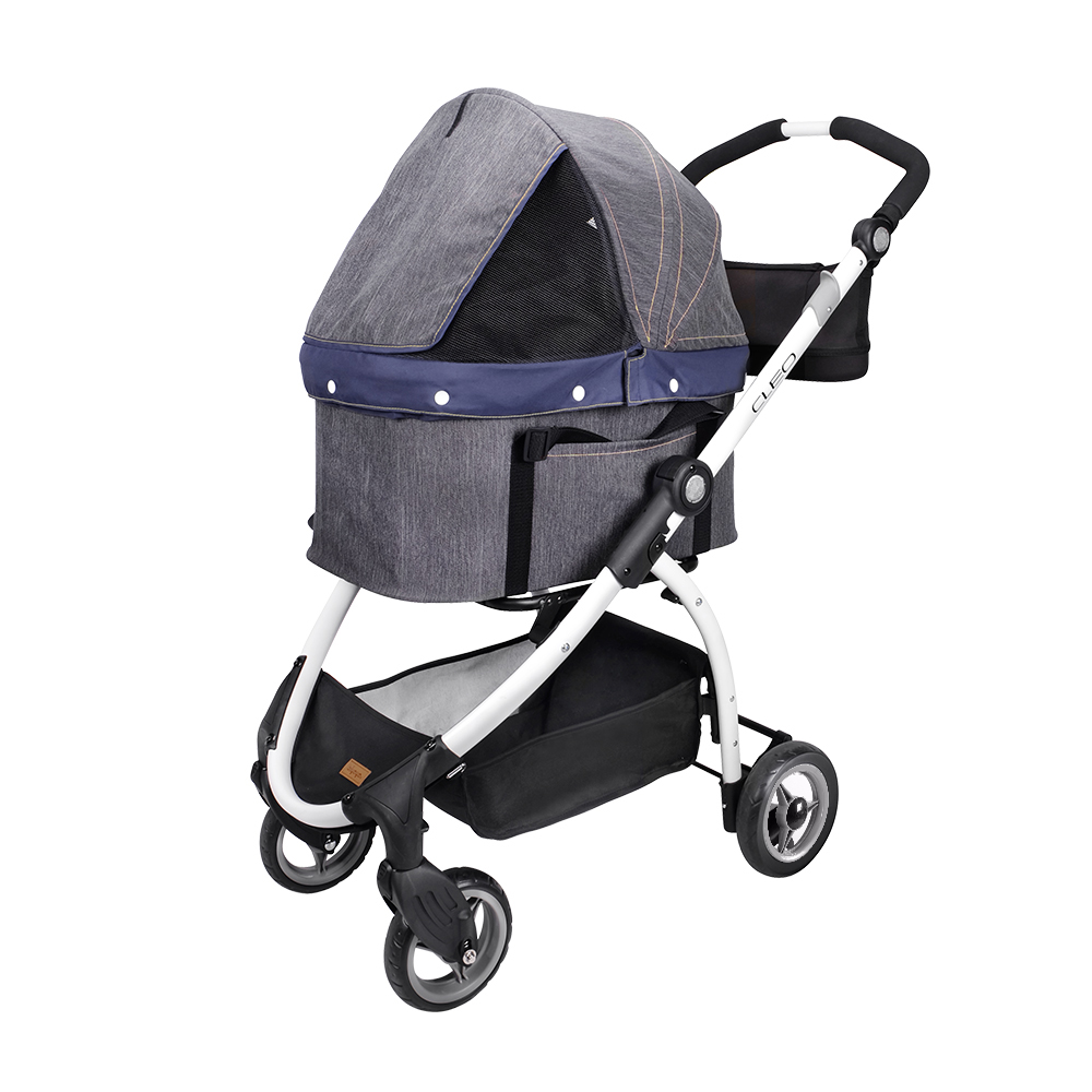 Triple Pet Stroller Ibiyaya Cleo Travel System Pet Stroller Nilufar