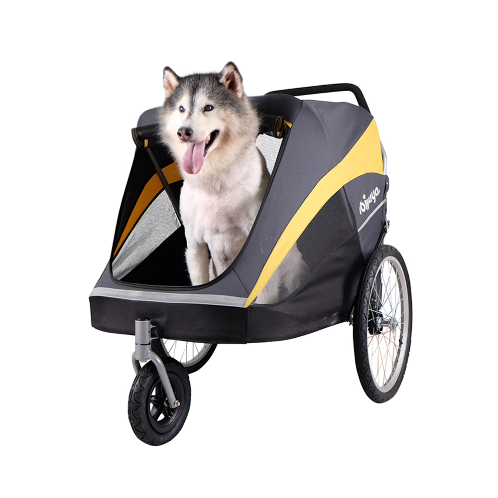 Triple Pet Stroller Ibiyaya The Hercules Heavy Duty Pet Stroller Nilufar