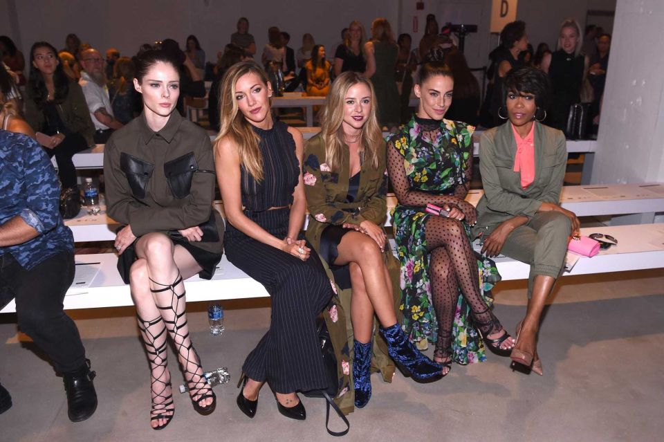 Coco Rocha, Katie Cassidy, Alyssa Greene, Jessica Lowndes, Michelle Williams