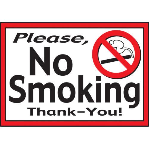 No Smoking Sign (7\