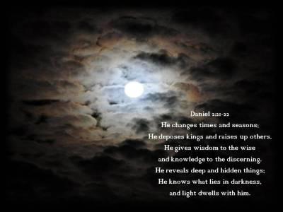 Daniel 2:21-22   Nimfa's