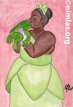 Princess Tiana Daily Creativity