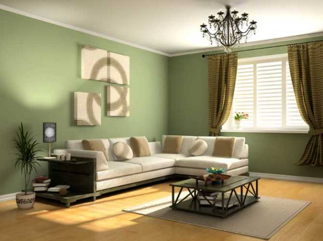 20 Gorgeous Green Living Room Ideas - green living rooms